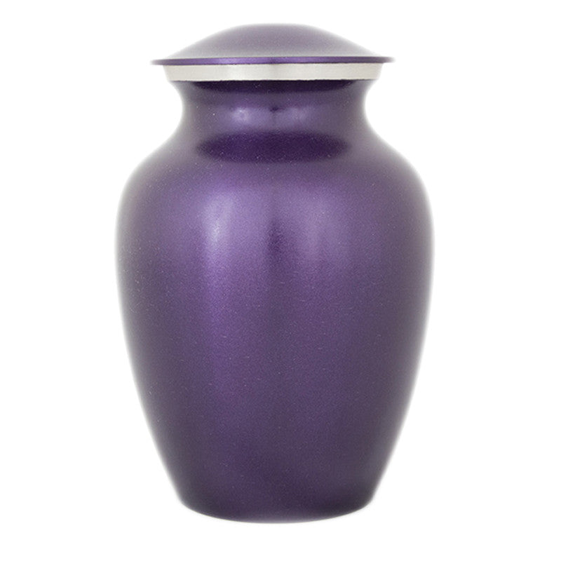 Luxurious Violet Pet Urns - Medium