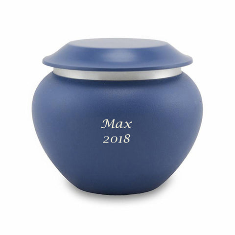 Sapphire Pet Cremation Urns - Small