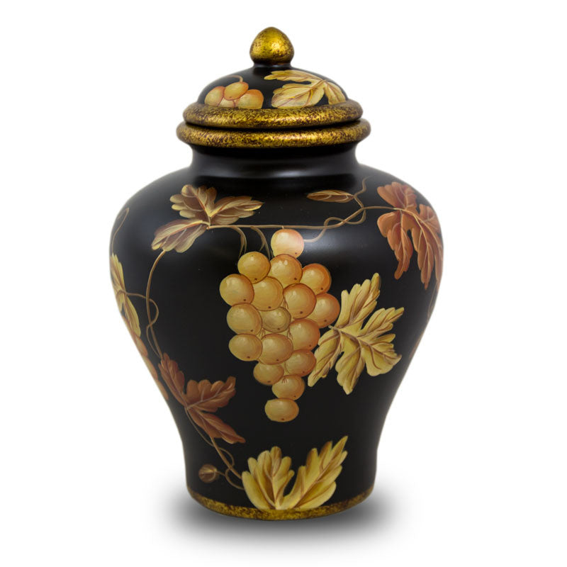 Vineyard Calm Ceramic Cremation Urn