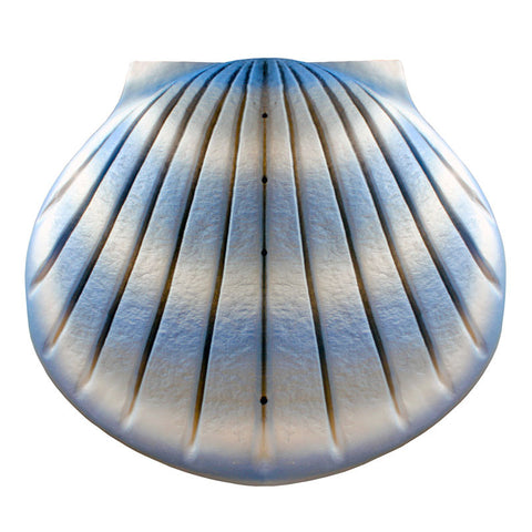 Shell Biodegradable Cremation Urn - Aqua Blue