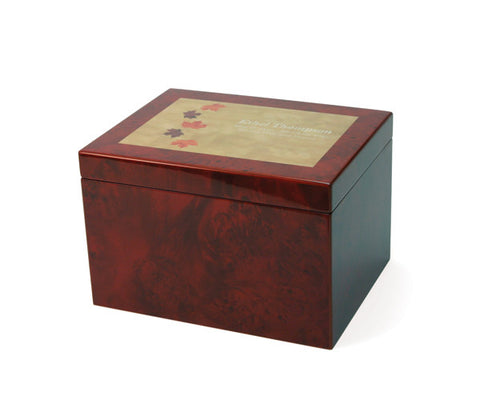 Autumn Leaves Large Memory Chest