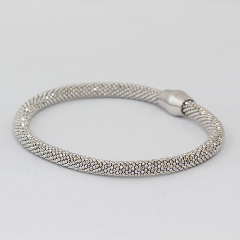 Sterling Silver Rope Bracelet for Cremation Pendant
