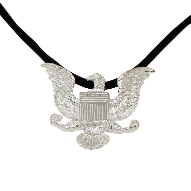 Sterling Silver Military Eagle Cremation Pendant