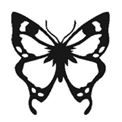 Butterfly Engraving - Large