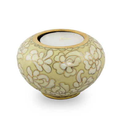 Cloisonne Keepsake Candle Holder - Opal