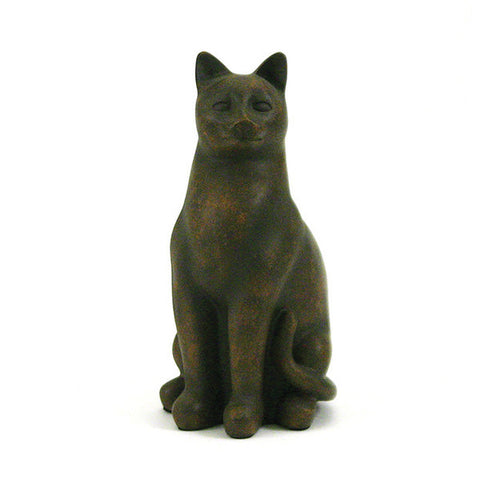 Grand Cat Cremation Urn - Tabby