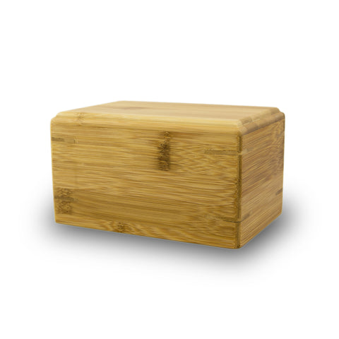 Pet Cremation Urn Bamboo Box - Small