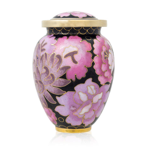 Cloisonne Blush Cremation Keepsake