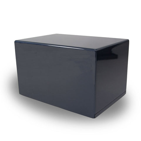 Somerset Navy Cremation Urn Box