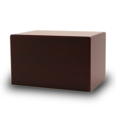 Cherry Sliding Panel Box - Small Adult