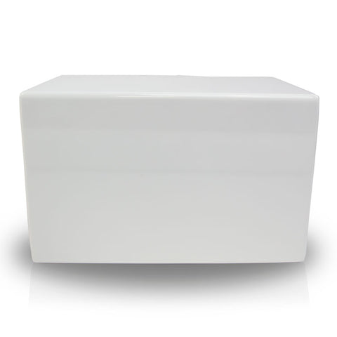 Somerset White Cremation Urn Box