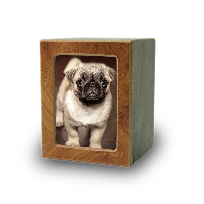Pet Photo Cremation Urn - Extra Small