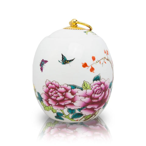 Butterfly Ceramic Cremation Urn - Small