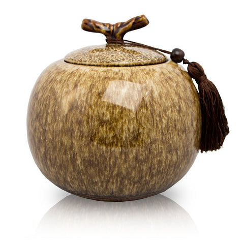 Branch Ceramic Cremation Urn