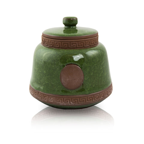 Emerald Ceramic Pet Urn - Extra Small