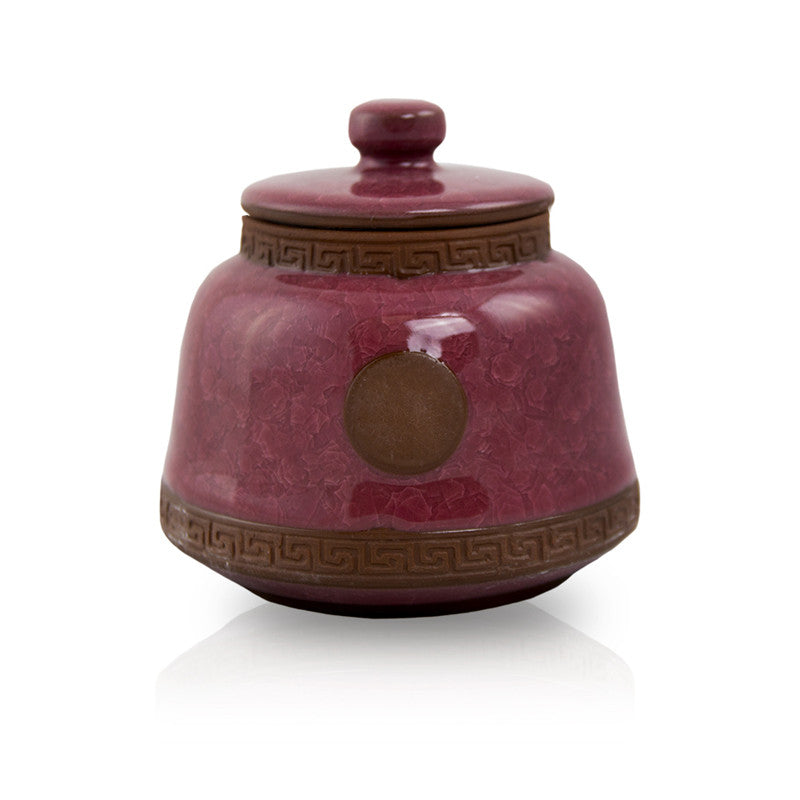Ruby Ceramic Pet Urn - Extra Small