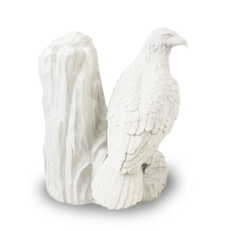Majestic Eagle Marbleized Resin Cremation Urn
