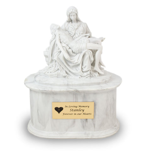 Pieta Statuary Cremation Urn - Large