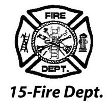 15-Fire Deptartment Symbol (+$29.95)