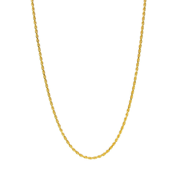 Gold Vermeil Rope Chain