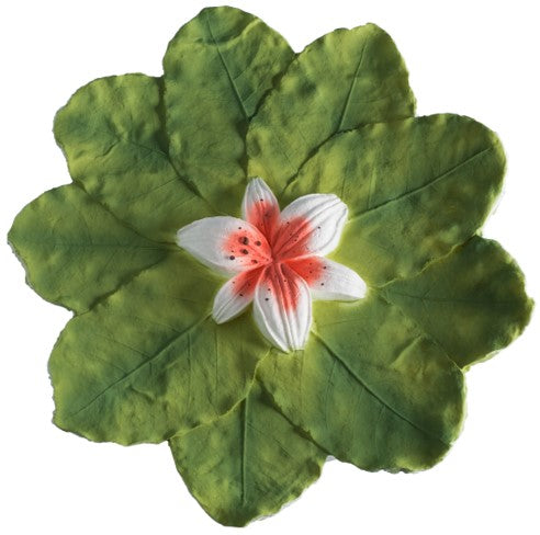 Floating Lily Pad Biodegradable Urn