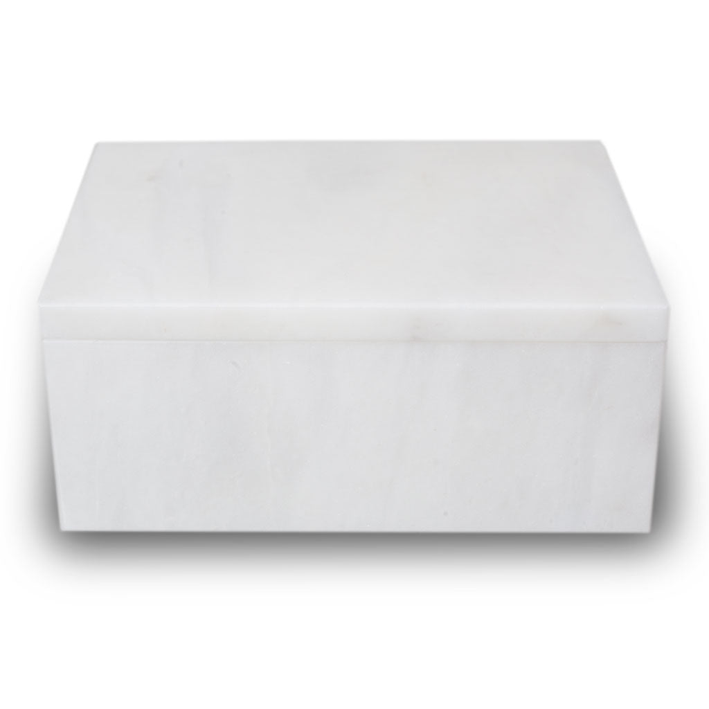 Taj Mahal Marble Cremation Urn Keepsake Box - Small