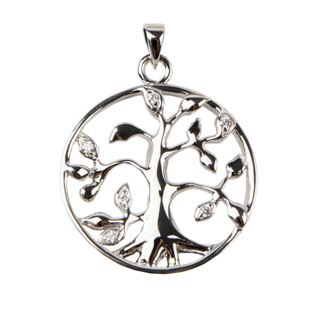 Tree of Life Cremation Necklace - Sterling Silver