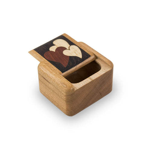 Cherry Wooden Keepsake Box - Treasures of the Heart