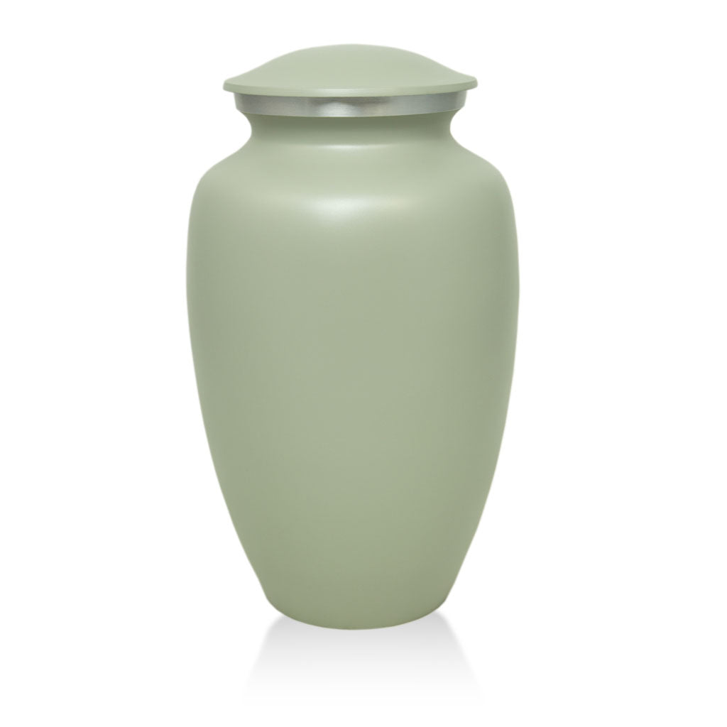 Gray Classic Cremation Urn - Large