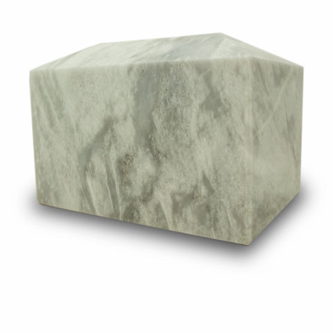 Taj Mahal White Marble Cremation Urn Box