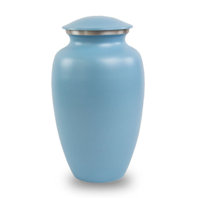 Blue Classic Cremation Urn - Large