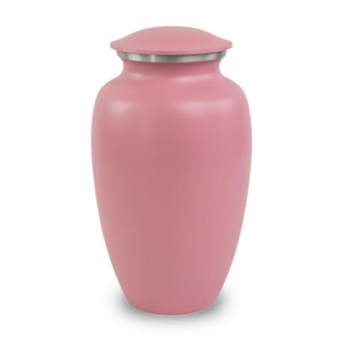 Pink Classic Cremation Urn - Large