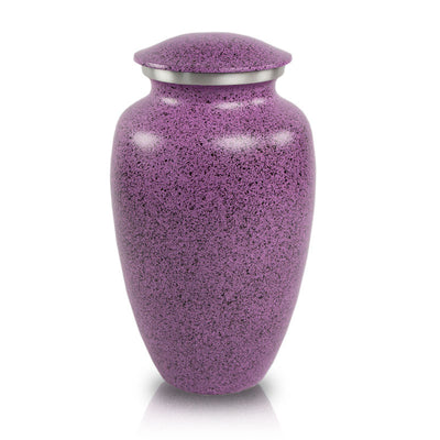 Two-Tone Lilac Classic Cremation Urn - Large