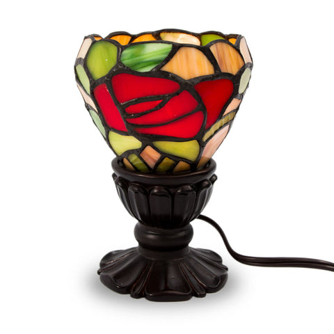 Red Rose Memory Lamp