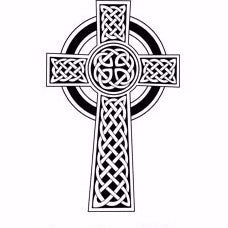 Celtic Cross Engraving - Large