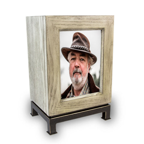 Mantel Cremation Urn and Photo Frame