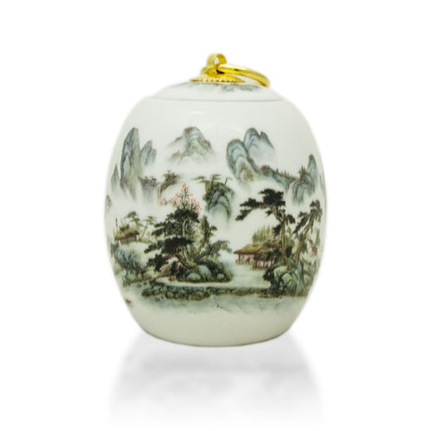 Misty Mountains Extra Small Ceramic Urn