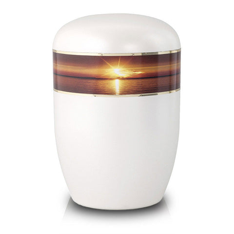 Biodegradable Cremation Urn - Sunset