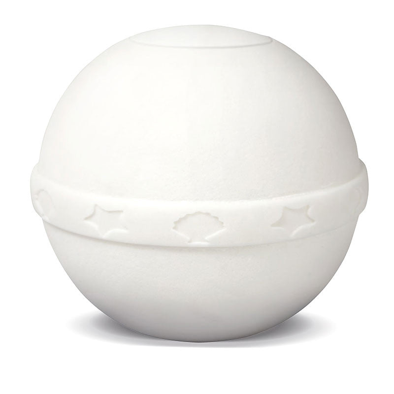 Seashell White Biodegradable Cremation Urn