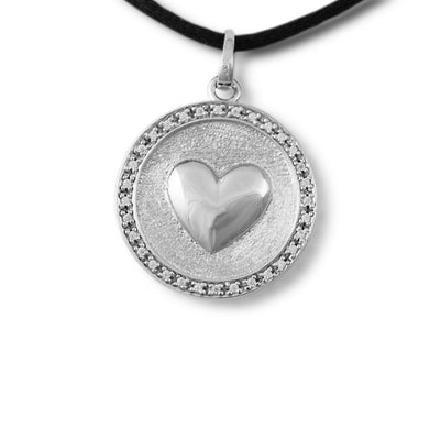 In My Heart Cremation Pendant