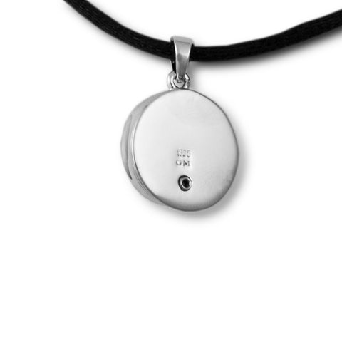 Nested Pearl Cremation Pendant - Sterling Silver
