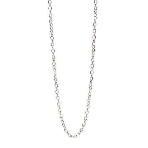 Sterling Silver Link Chain - 18 Inches