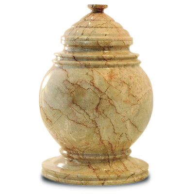 Cameo Marble Cremation Urn