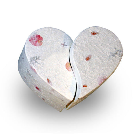 Biodegradable Companion Urn - Floral Unity