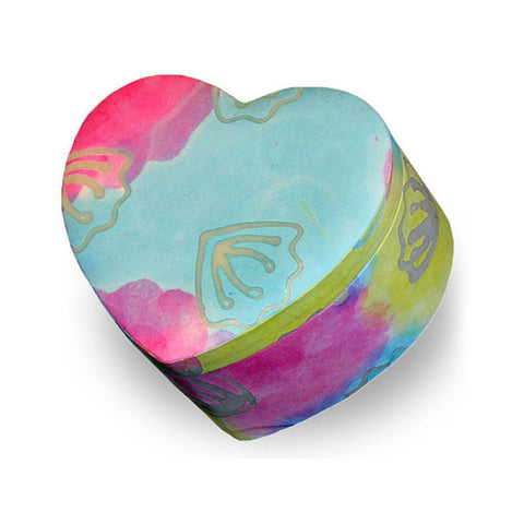 Biodegradable Pet Earth Urn - Tie Dye