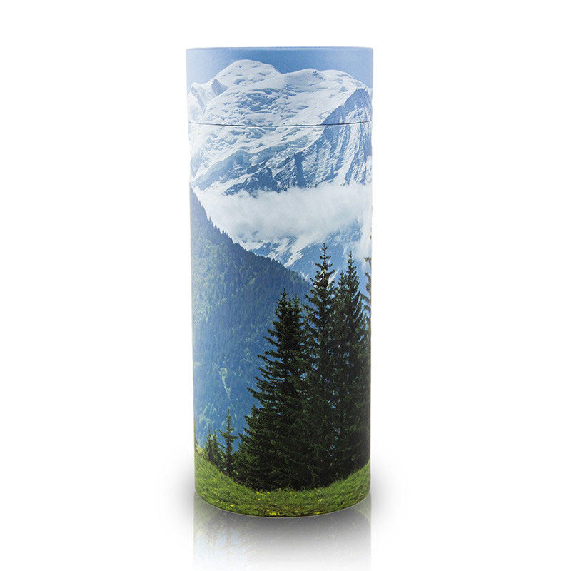 Mountain Cremation Scattering Tube - Large
