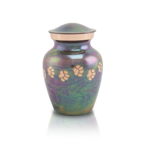 Extra Small Raku Cremation Urn