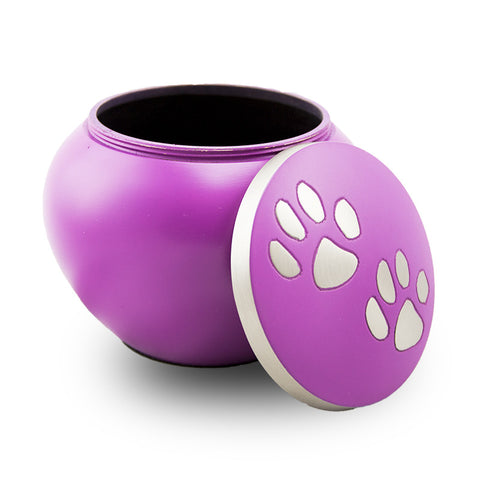 Gentle Paws Cremation Urn - Large Lilac