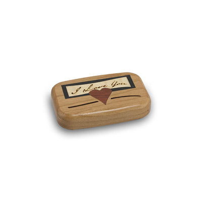 I Love You - Wood Memorial Keepsake