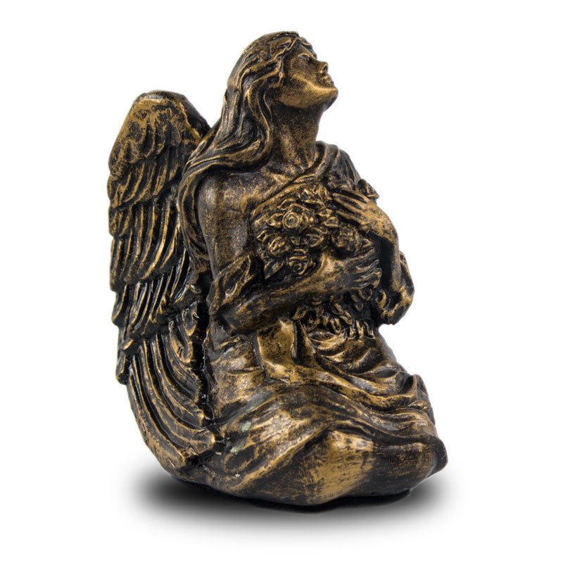 Serenity Angel Cremation Keepsake - Bronze